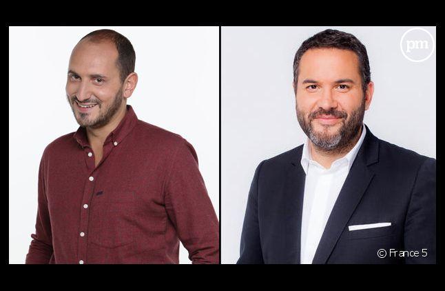 Karim Rissouli et Bruce Toussaint.