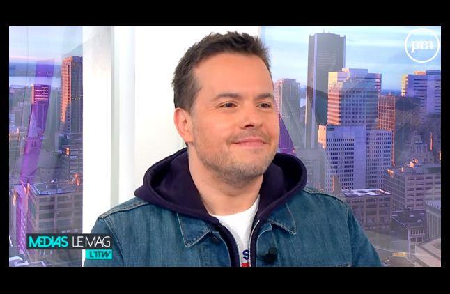 Nicolas Demorand, de retour à la télévision.