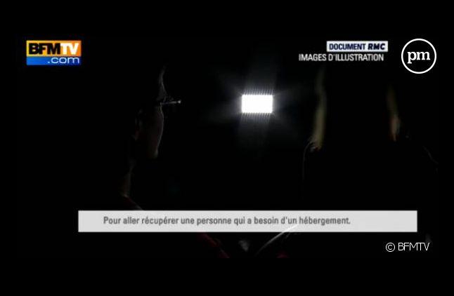Capture d'écran du témoignage de Sonia diffusé sur BFMTV le 4 février