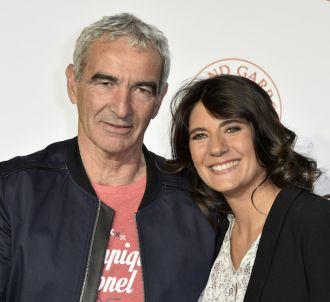 Raymond Domenech et sa compagne Estelle Denis