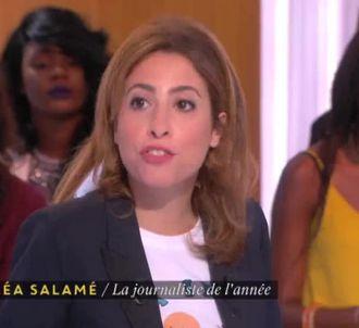 Léa Salamé, sur Canal+.