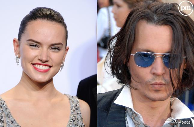 """Daisy Ridley et Johnny Depp rejoignent le cast du """"Crime de l'Orient Express""""."""