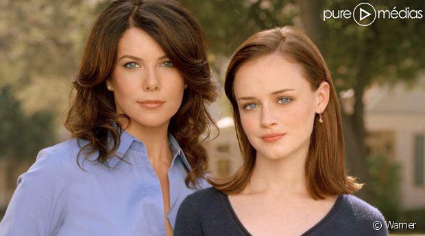 """Lauren Graham et Alexis Bledel à l'époque de """"Gilmore Girls"""""""