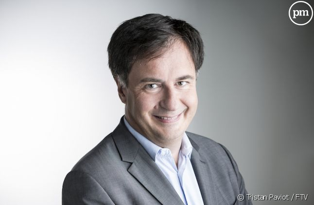 Vincent Meslet<span></span><span>, le directeur exécutif de France 2 </span>