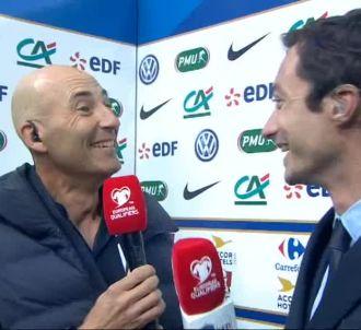 Nicolas Canteloup imite Didier Deschamps à la fin de...