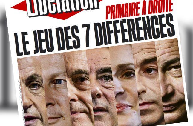 """La Une de """"Libération"""" du 12 octobre 2016."""