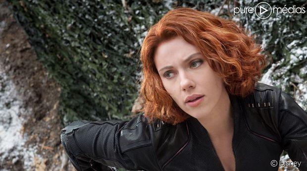 """Scarlett Johansson dans """"Avengers 2"""""""