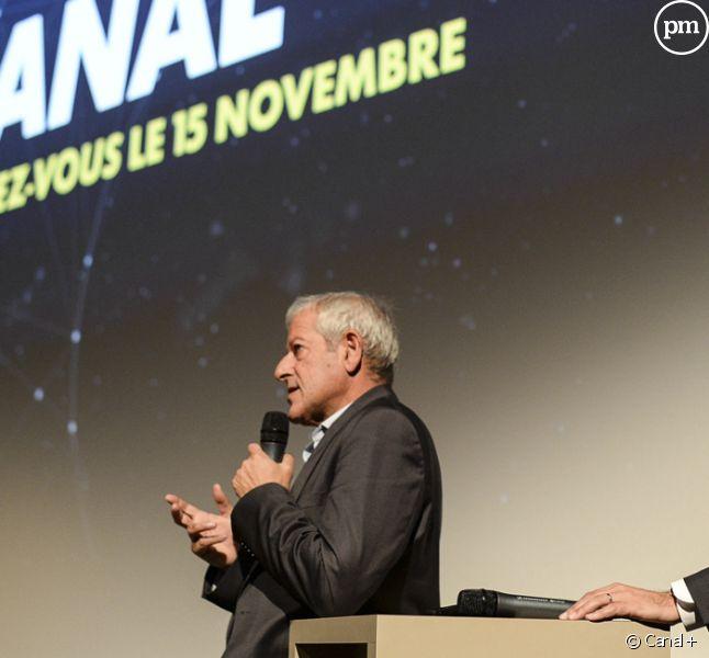 Frank Cadoret et Maxime Saada, Canal+.