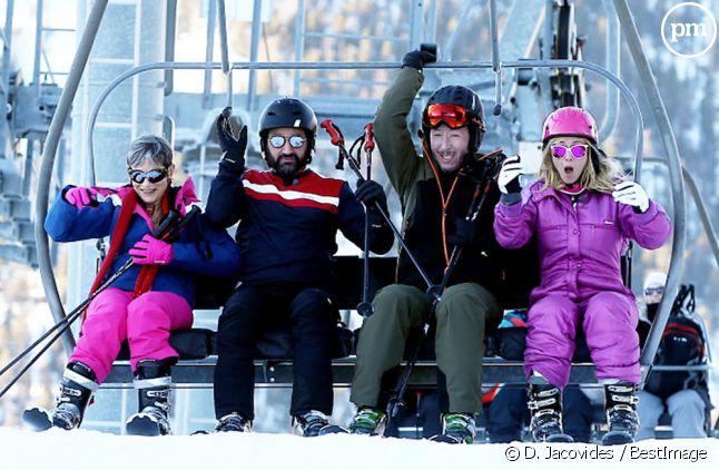 """""""TPMP fait du ski"""""""