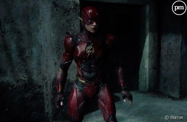 "Ezra Miller est ""Flash"""
