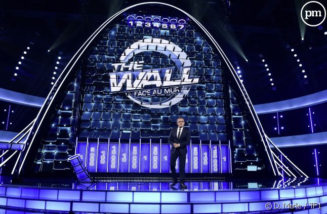 "Christophe Dechavanne dans ""The Wall"""