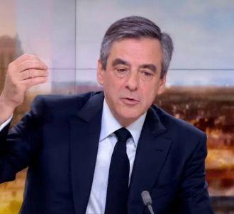 François Fillon au 20 heures de France 2.