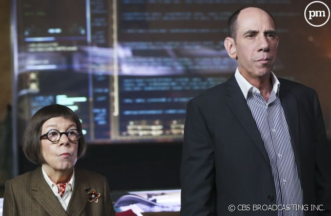 "Linda Hunt et Miguel Ferrer dans ""NCIS : Los Angeles"""