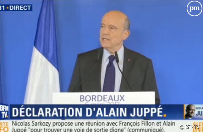Déclaration d'Alain Juppé.