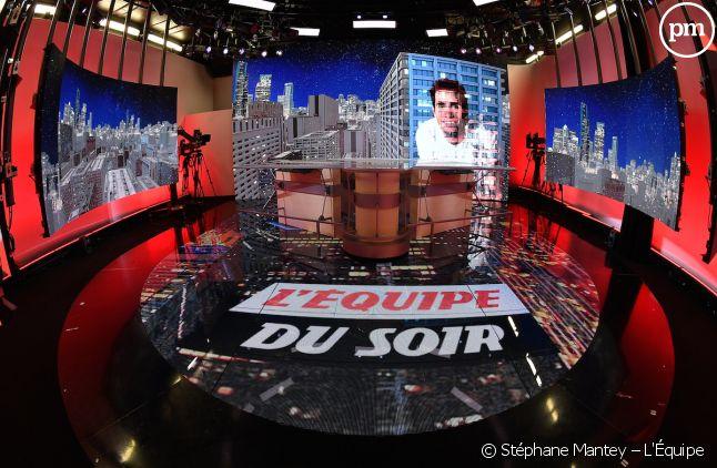 """Plateau de """"L'Equipe du soir"""""""