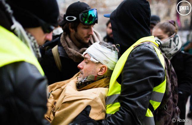 Des gilets jaunes à Paris le 8 décembre 2018