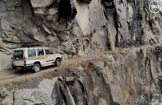 """""""Les routes de l'impossible"""" en Inde"""
