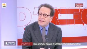 """Gilets jaunes : Gilles Le Gendre (LREM) pense avoir été """"trop intelligent et trop subtil"""", sur Public Sénat"""