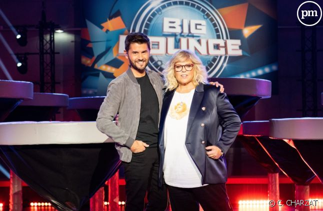 """Christophe Beaugrand et Laurence Boccolini (""""Big Bounce"""")"""