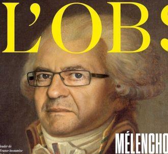 Jean-Luc Mélenchon grimé en Robespierre à la Une de...