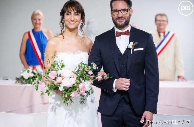 """Nolwenn et Florian dans """"Mariés au premier regard"""""""