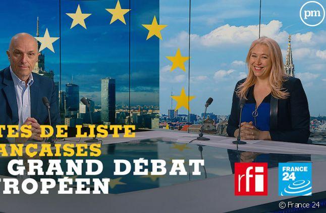Débat pour les européennes le 9 avril prochain sur France 24 et RFI.