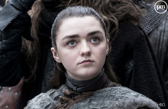 "Maisie Williams est Arya Stark dans ""Game of Thrones"""