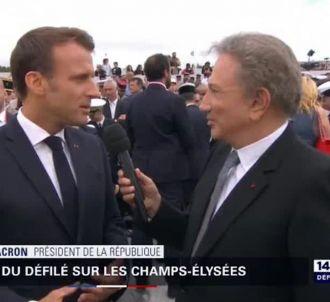 Michel Drucker sur BFMTV