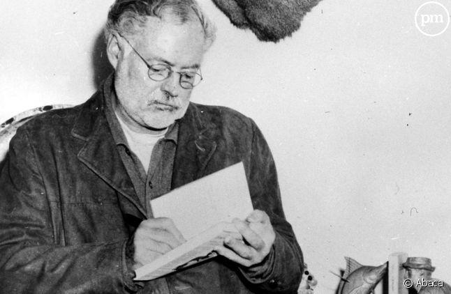 Ernest Hemingway en 1956