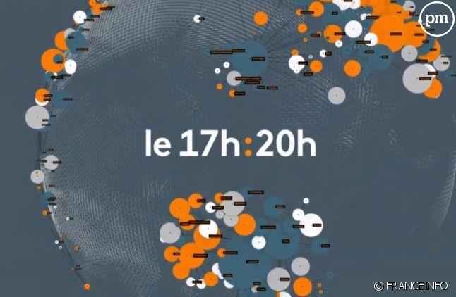 """""""Le 17h/20h"""" et ses bulles de couleur orange"""