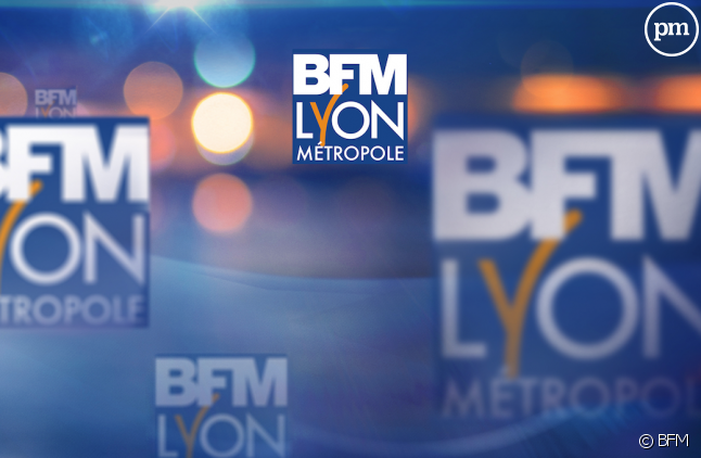 Logo de BFM Lyon Métropole