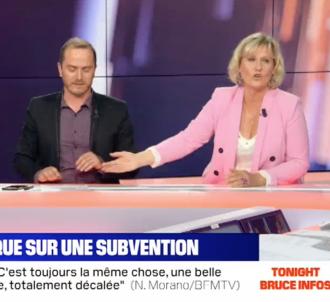 Nadine Morano saborde la chronique de Benoît Gallerey