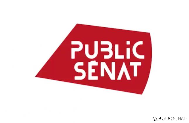 Le nouveau logo du Public Sénat