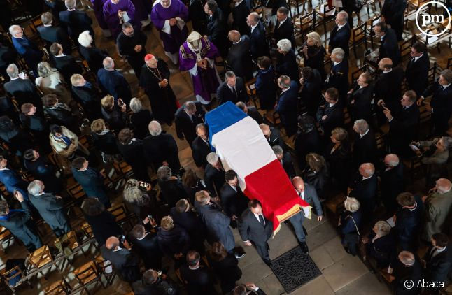Cérémonie à l'église Saint-Sulpice
