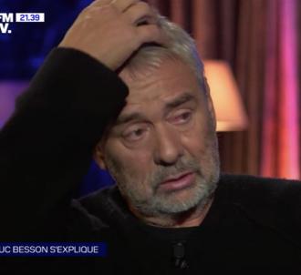Luc Besson en larmes sur BFMTV