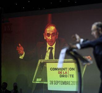 Eric Zemmour lors de 'La convention de la droite', le 28...