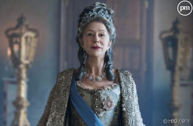 "Helen Mirren est ""Catherine The Great"""