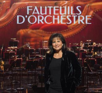 Anne Sinclair présente 'Fauteuils d'orchestre' sur France 3