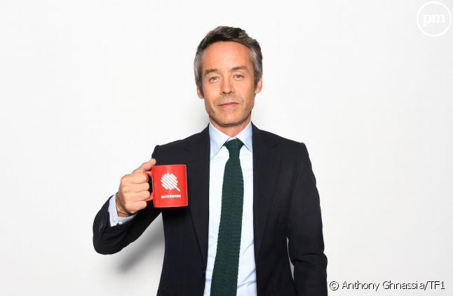 """Yann Barthès présente """"Quotidien"""" sur TMC"""