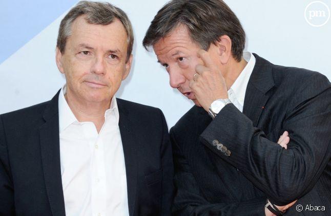 Alain Weill et Gilles Pélisson réclament des mesures plus favorables aux acteurs traditionnels de la télévision