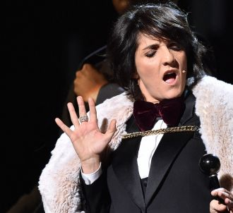 Florence Foresti sur la scène des César, en février 2016.