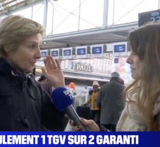 La voyageuse qui a interpellé la journaliste de BFMTV est...