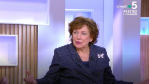 """""""C à vous"""" : Roselyne Bachelot démonte les contradictions de l'urgentiste médiatique Christophe Prudhomme"""