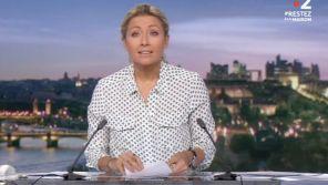 """Anne-Sophie Lapix victime de son prompteur au """"20 Heures"""" de France 2"""