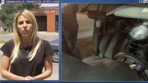 Une équipe de TF1 prise pour cible et arrêtée à Minneapolis