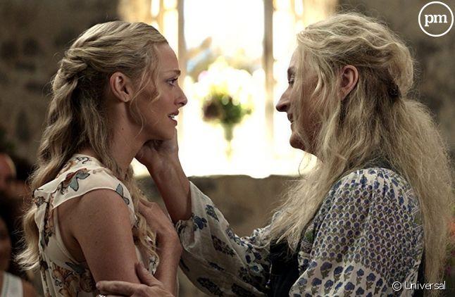 """Amanda Seyfried et Meryl Streep dans """"Mamma Mia ! Here We Go Again"""""""