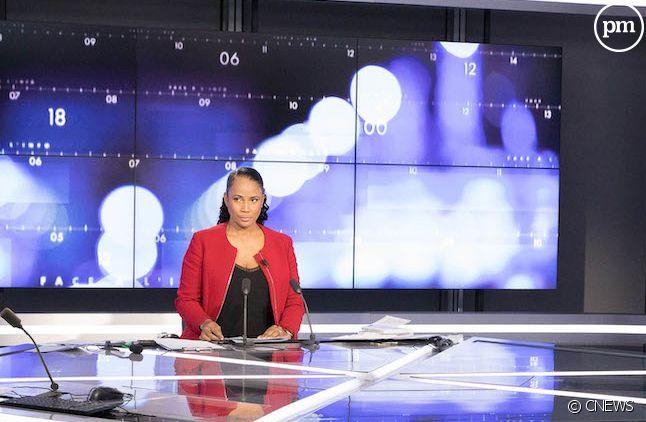 """Christine Kelly et Eric Zemmour sur le plateau de """"Face à l'info"""""""