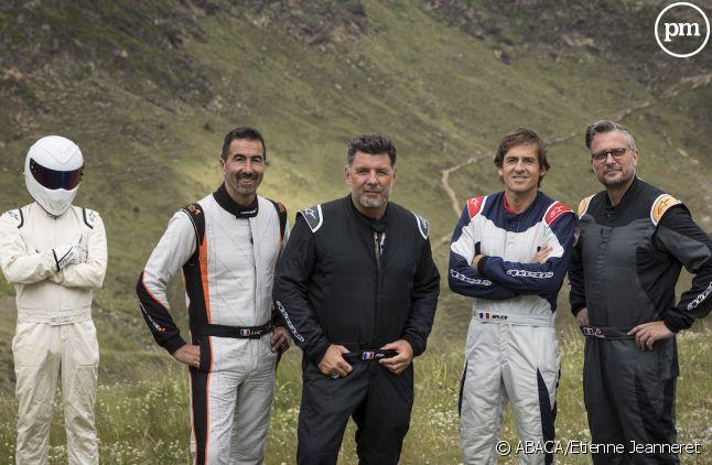 """La nouvelle équipe de """"Top Gear France"""" au complet"""
