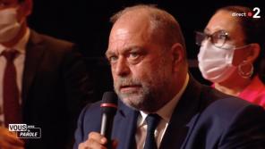 """""""Vous avez la parole"""" : Eric Dupond-Moretti reproche à France 2 d'avoir fait témoigner une mère endeuillée"""
