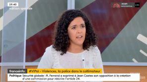 """""""Ca me fait vomir !"""" : Tension sur le plateau de franceinfo: lors d'un débat sur la police"""